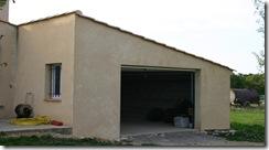 Construction d'un garage